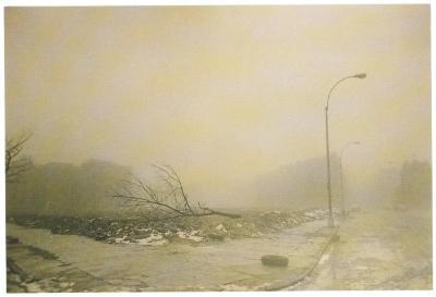 Postcard of a Street Corner of the South Bronx