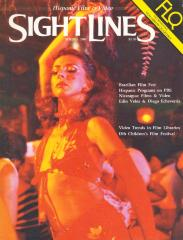 Sight Lines, Spring 1985 (cover & index)