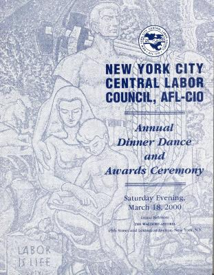 New York City Central Labor Council, AFL-CIO Annual Dinner Dance and Awards Ceremony