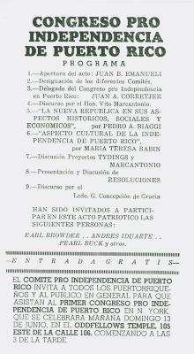 Congreso Pro Independencia de Puerto Rico