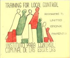 Training for local control of schools by the United Bronx Parents