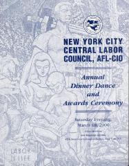 New York City Central Labor Council, AFL-CIO Annual Dinner Dance and Awards Ceremony