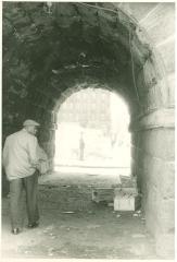 View through walkway