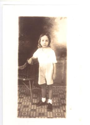 Herman Badillo as a child in Caguas, Puerto Rico