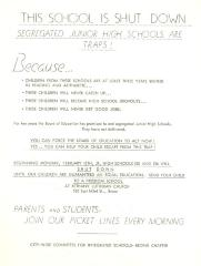 This school is shut down