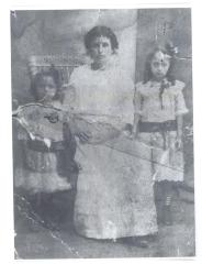 Herman Badillo's grandmother, mother and aunt