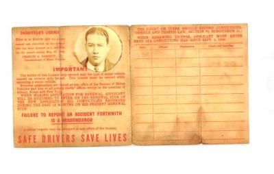 Chauffeur's License