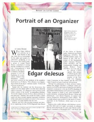 Portrait of an Organizer - Edgar de Jesús