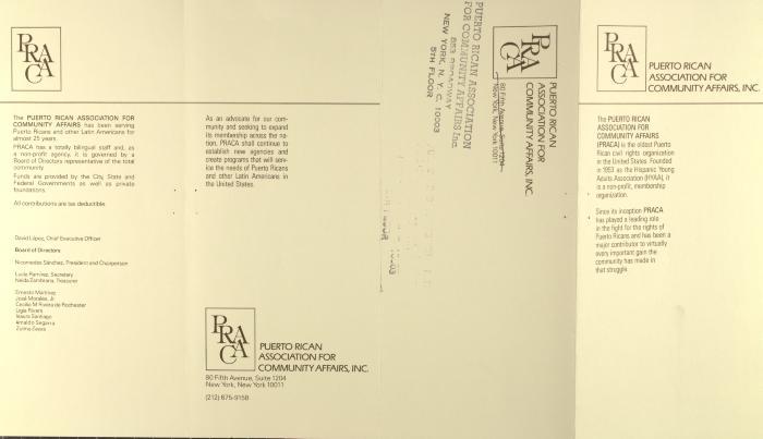 Puerto Rican Association for Community Affairs, Inc.