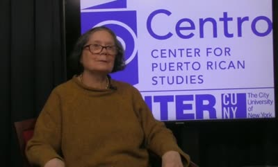 Interview with Carmen Mercado on November 1, 2019
