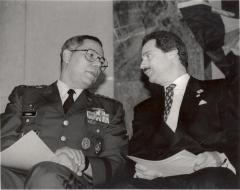 Ferrer and Gen. Colin Powell