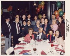 Torres family and friends at Fordham University School of Law, Dean's Day