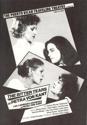 The Bitter Tears of Petra Von Kant / Las Lagrimas Amargas de Petra Von Kant
