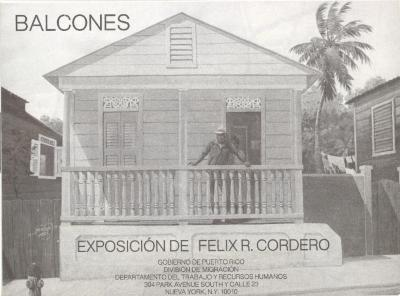 Balcones, Exposición de Felix R. Cordero