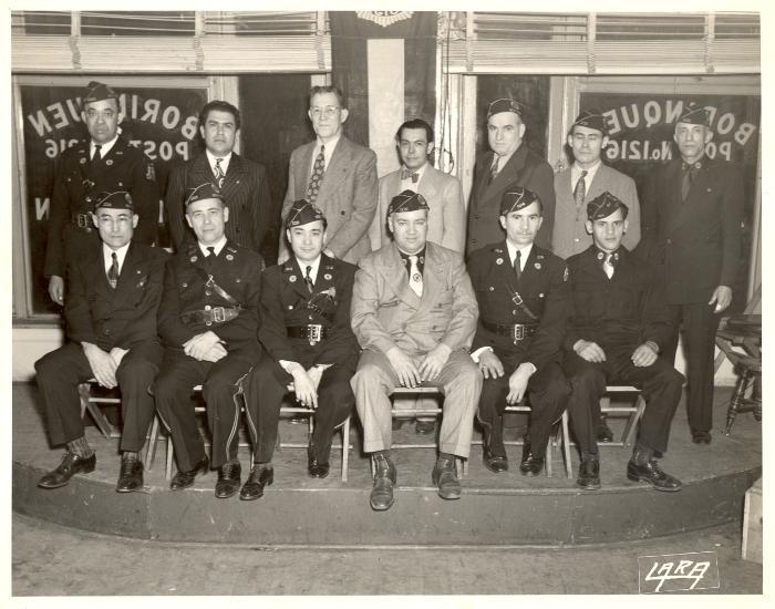 American Legion members of Borinquen Post No. 1216