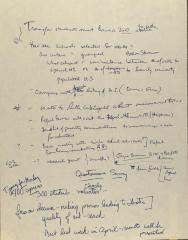 Manuscript Notes of the Puerto Rican/Latino Caucus of Hunter College