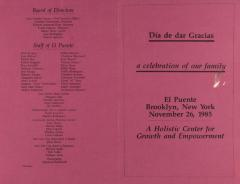 Día de Dar Gracis / A Celebration of Our Family