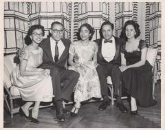 Torres family siblings (left to right) Alma, Austin, Yolanda, Frank and Aida Torres