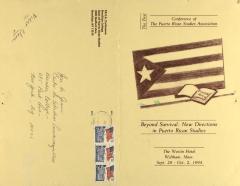 Beyond Survival: New Directions in Puerto Rican Studies
