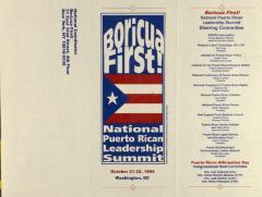 Boricua First! - National Puerto Rican Leadership Summit