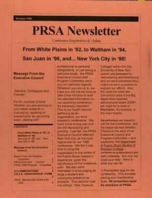 PRSA Newsletter