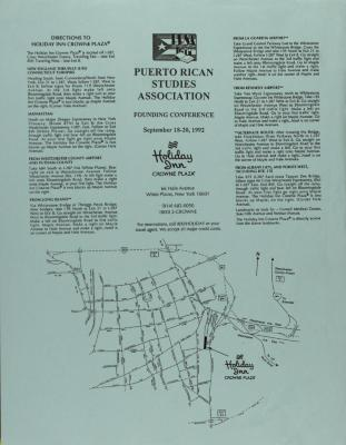 Puerto Rican Studies Association Founding Conference