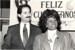 Ferrer and Celia Cruz
