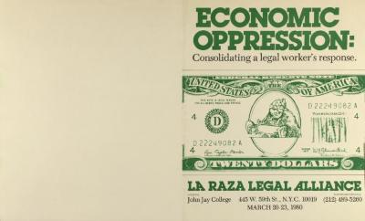 Economic Oppression: Consolidating a Legal Worker's Response