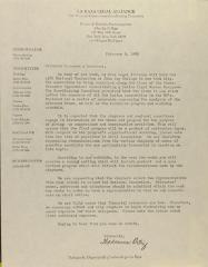 Correspondence from La Raza Legal Alliance