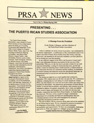 Presenting  . . . The Puerto Rican Studies Association