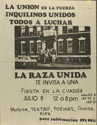 La Union Es La Fuerza, Inquilinos Unidos, Todos A Luchar / The Union Is The Force, Tenants United, All To Fight