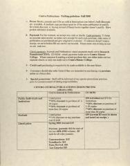 Centro Publications - Tabling Guidelines