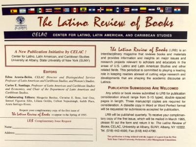 The Latino Review of Books