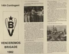 Venceremos Brigade - 14th Contingent
