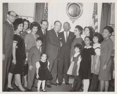 Torres family after the swearing of Felipe N. Torres as Judge