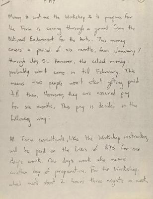 Manuscript Draft on Feria de Expresión Puertorriqueña