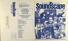 Soundscape - Fall 1982 Music Calendar