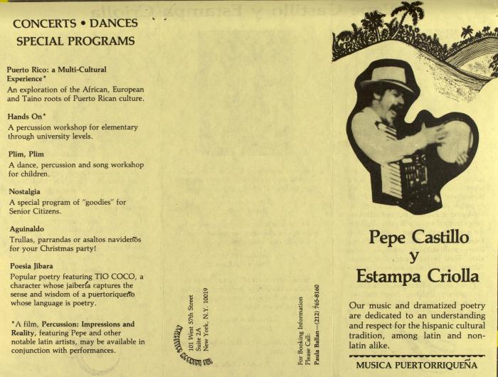 Pepe Castillo y Estampa Criolla