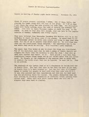 Meeting Minutes of the Center for Puerto Rican Studies on the Lexington Avenue Music Workshop