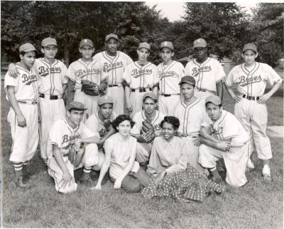 Braves Baseball team portrait