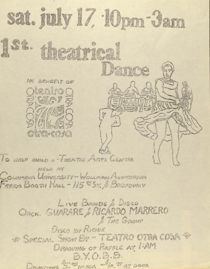 1st Theatrical Dance