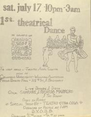 1st Theatrical Dance