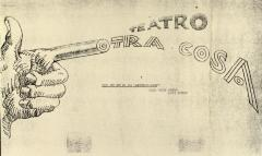 Correspondence from Teatro Otra Cosa
