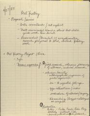 Manuscript Notes of the Center for Puerto Rican Studies - Oral History Project