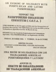 Support the Farmworkers Organizing Committee (C.O.T.A.)!