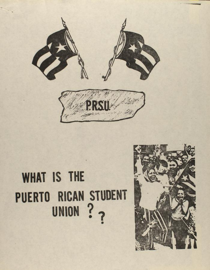 What is the Puerto Rican Student Union??