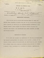 Resolución Conjunta / Joint Resolution