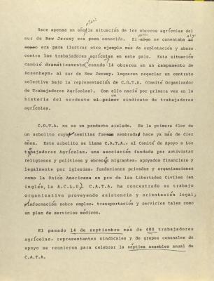 Comité Organizador de Trabajadores Agrícolas (COTA)