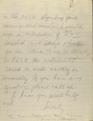Manuscript Notes of the Puerto Rican Student Union