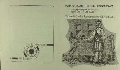 Puerto Rican History Conference